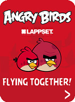 ������� ������� ��������� Lappset Angry Birds